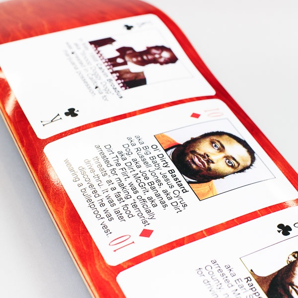 Hotel Blue Rapper Mugshot Deck