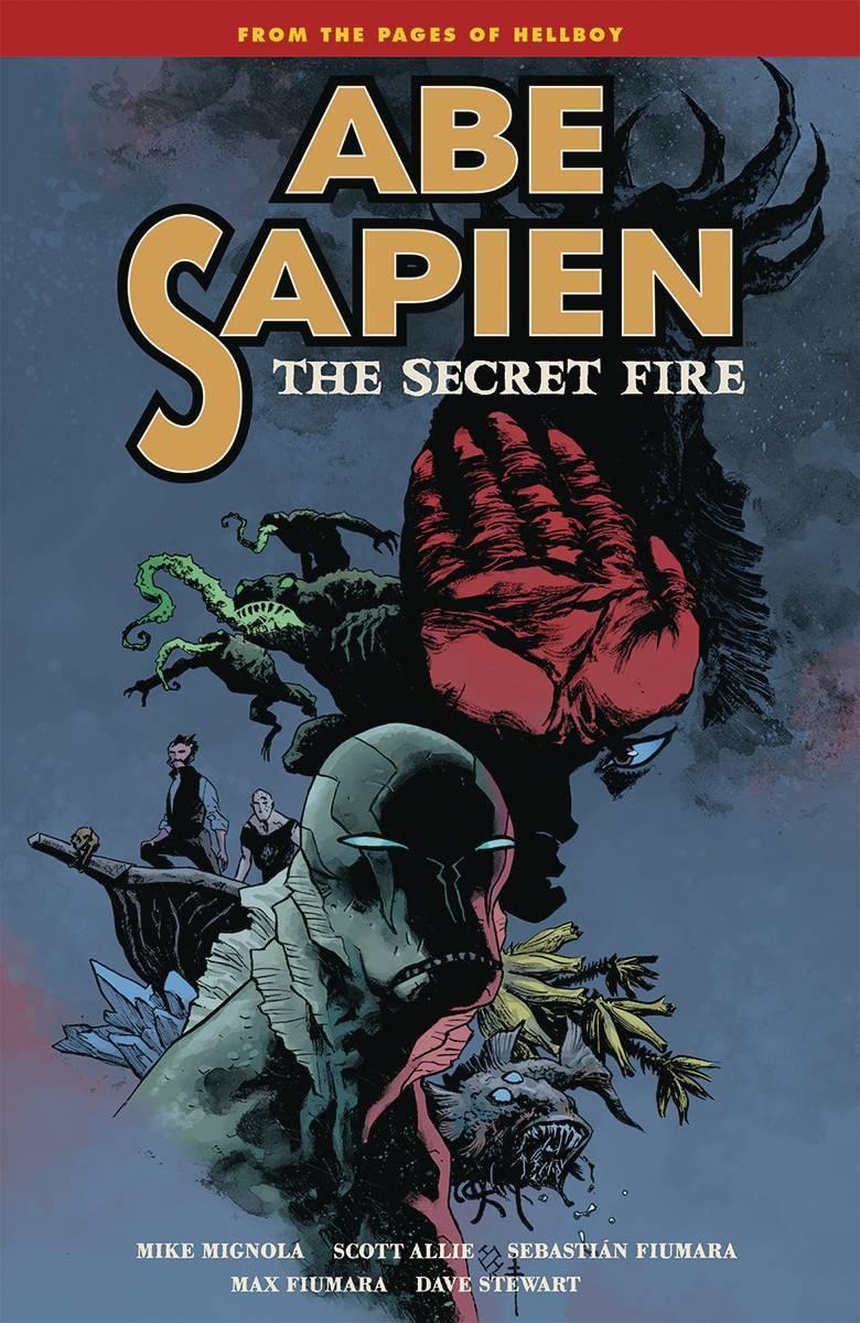 Abe Sapien Vol 07 Secret Fire
