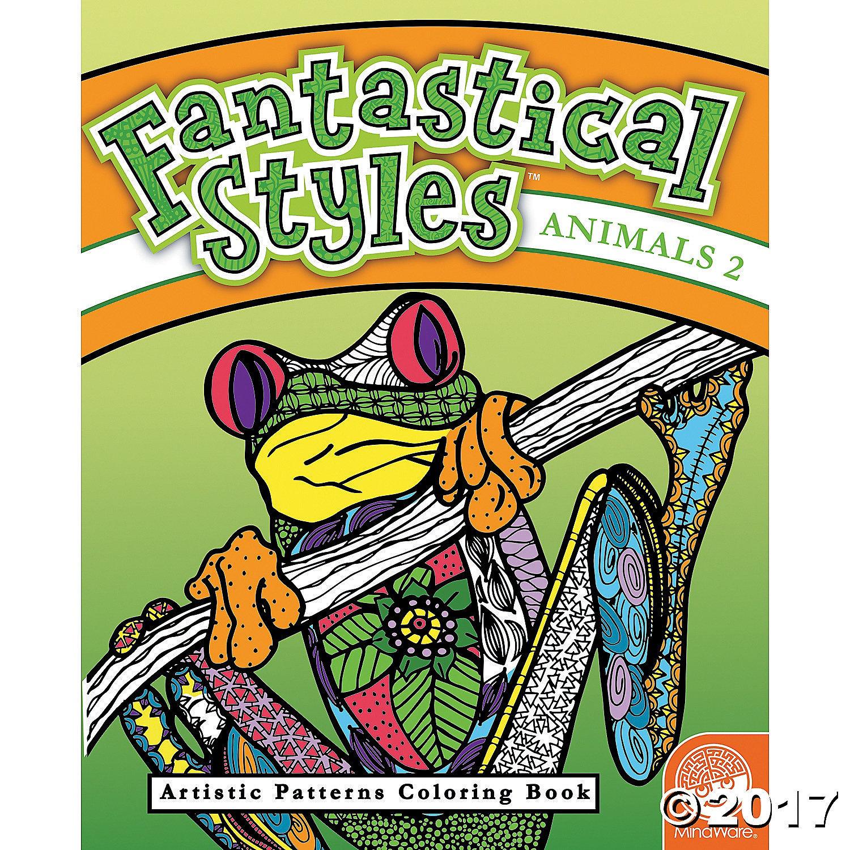 X MW 68224 FANTASTICAL STYLES ANIMALS 2
