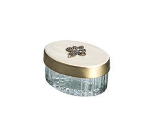 Fleur De Lis Cream Pill Box