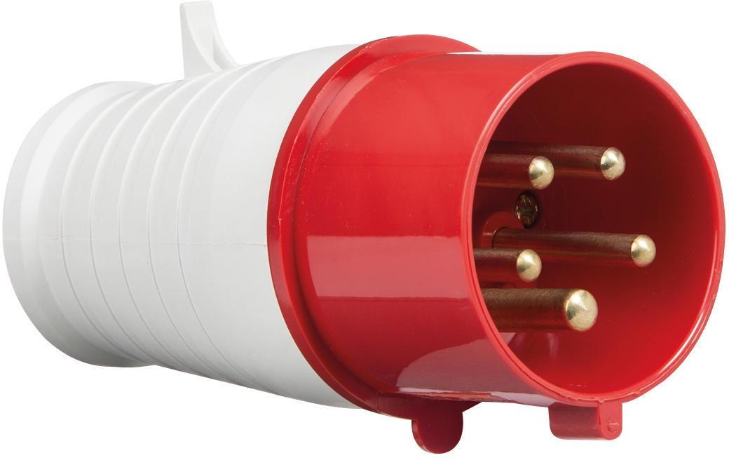 415V IP44 32A Plug 3P+N+E