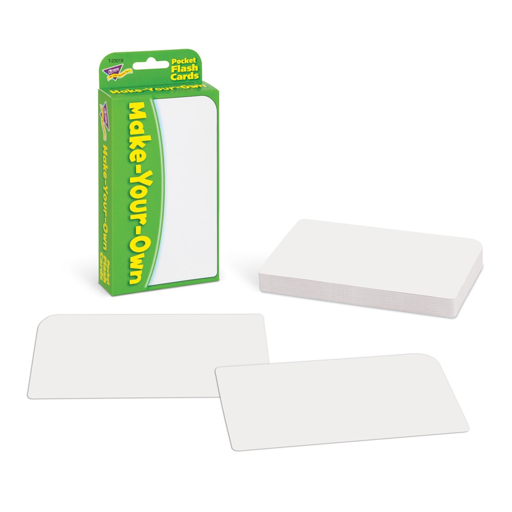 T 23019 MAKE YOUR OWN POCKET FLASHCARDS