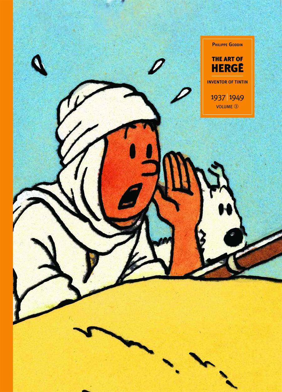 Art of Herge Inventor of Tintin HC Vol 02 (of 3)