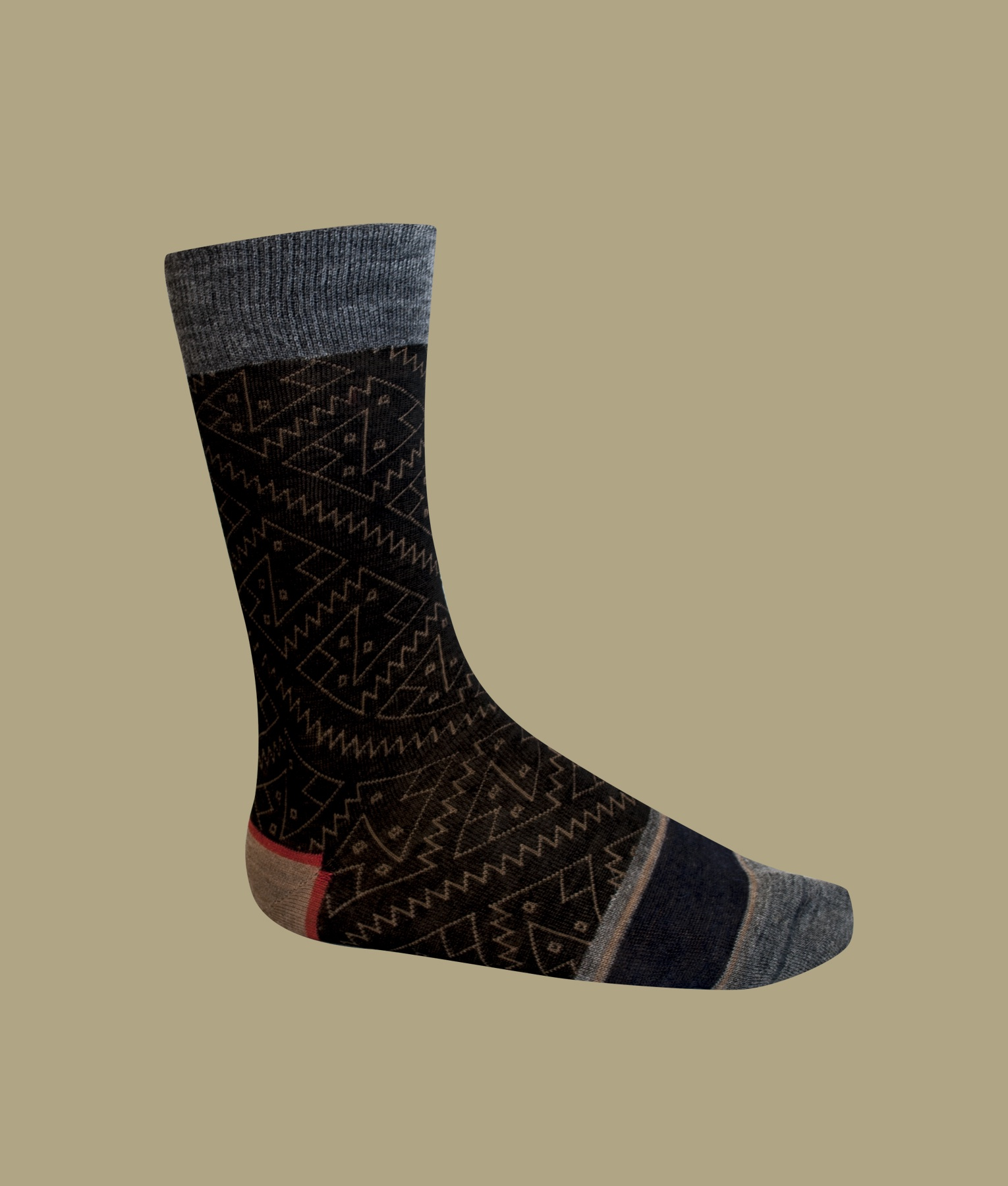 CHANCAY PATTERN MEN'S SOCKS