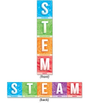 CTP 8155 STEM AND STEAM BANNER