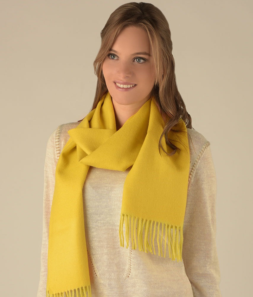 LONG BRUSHED SCARF AM13494