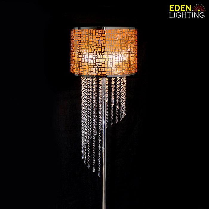 Long crystal drops floor lamp crystals included eden lighting previous aloadofball Images