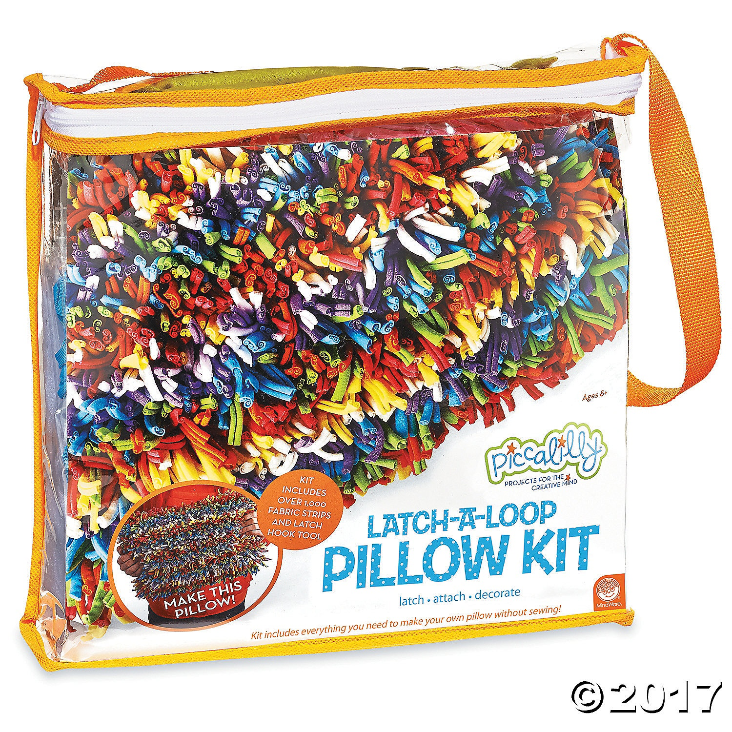 X MW 68427 PICALILLY LATCH-A-LOOP PILLOW KIT