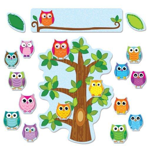 CD 110226 COLORFUL OWLS BEHAVIOR BBS