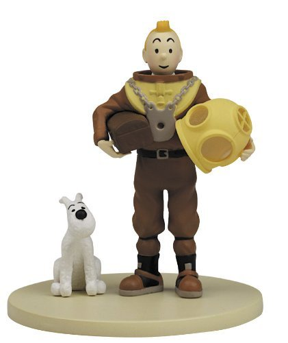Tintin Box Scene Diving-Suit