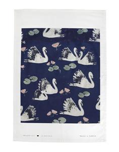 Raine & Humble Tea Towel Swan Lake
