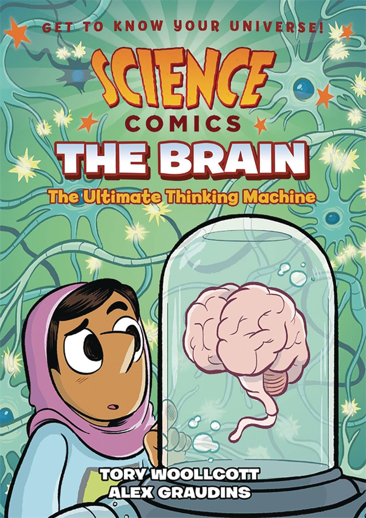 SCIENCE COMICS THE BRAIN