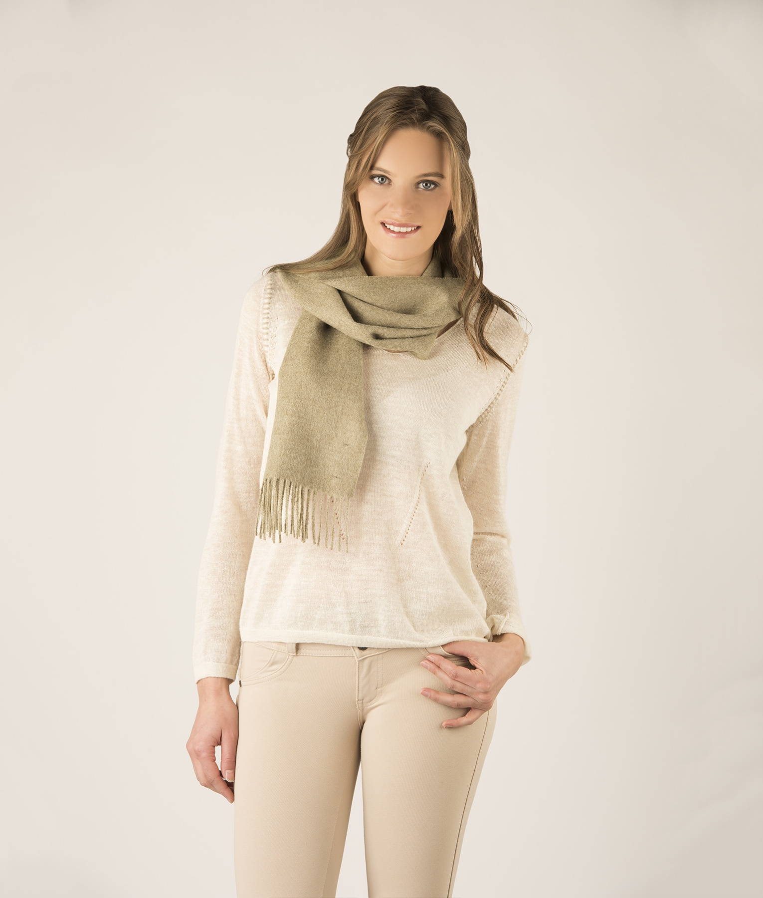 BRUSHED SCARF 284