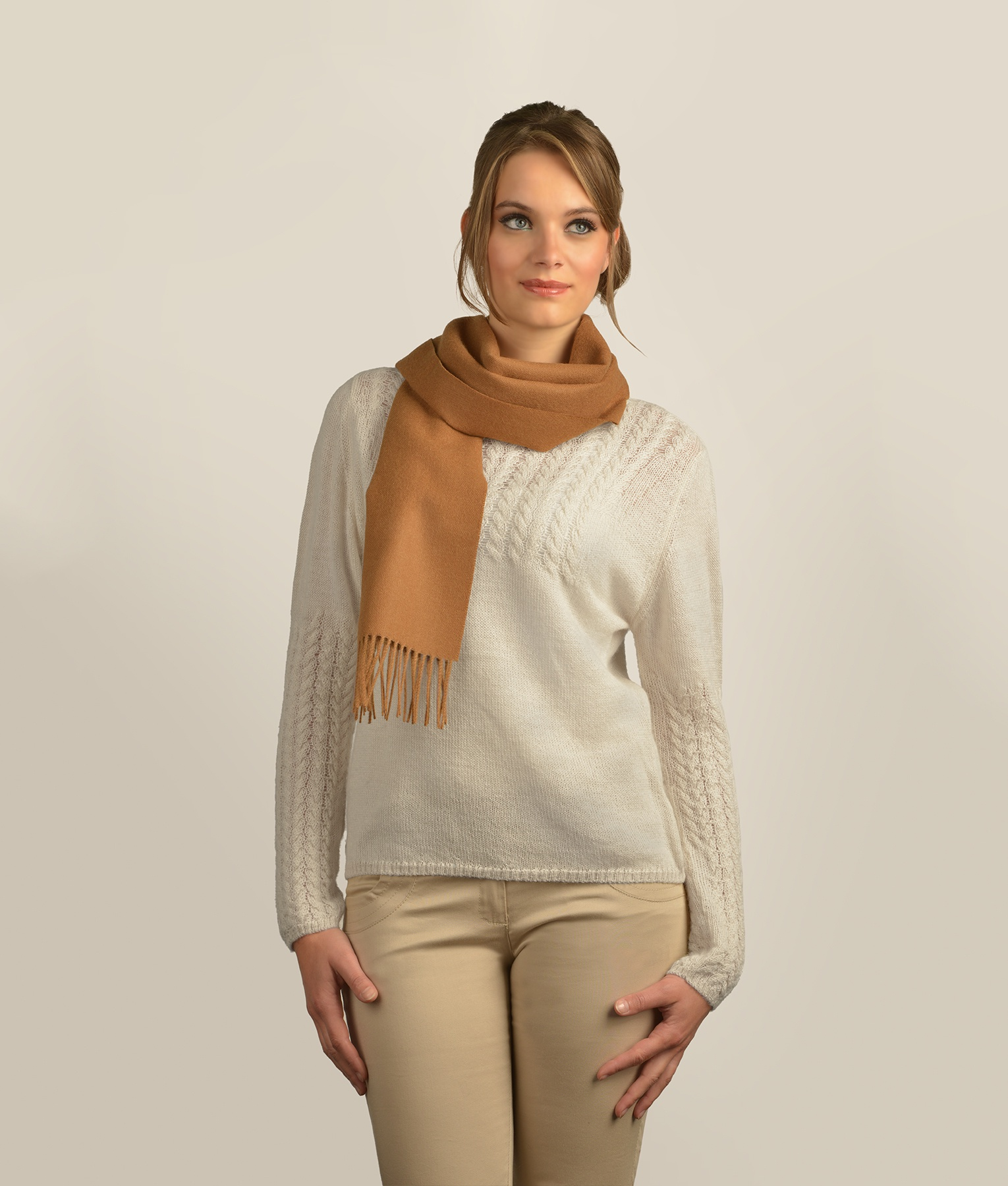 BRUSHED SCARF 205