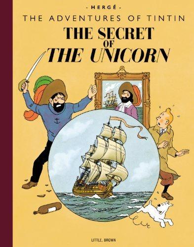Tintin Collectors Giant HC Secret of The Unicorn