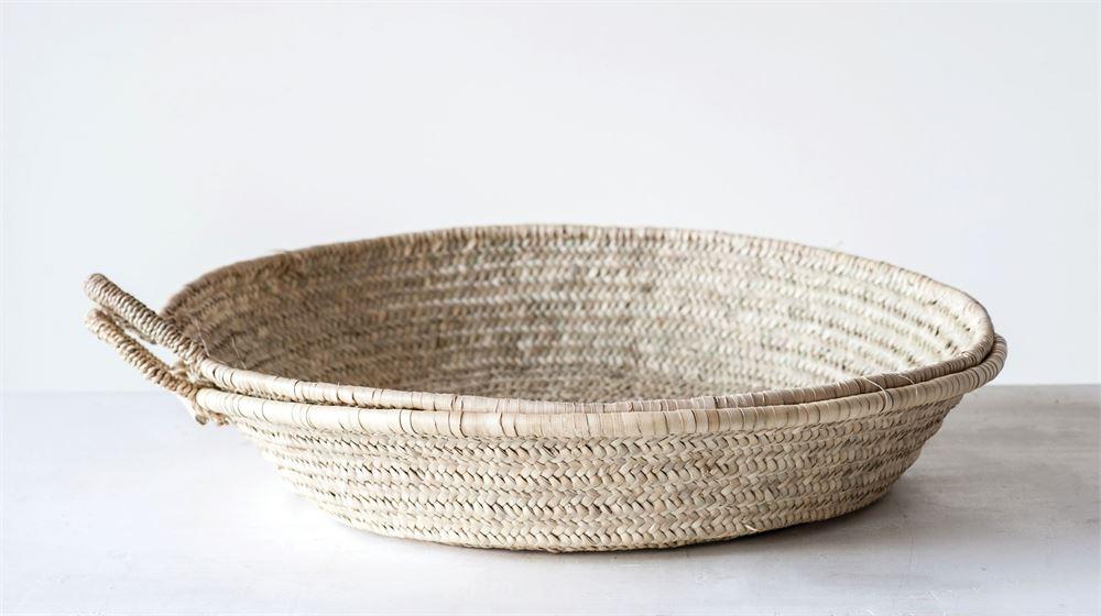 Moroccan Flat Basket