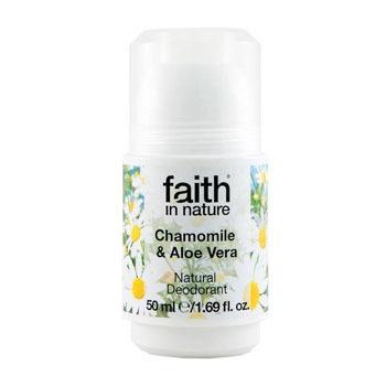 FAITH IN NATURE CHAMOMILE & ALOE VERA NATURAL DEODORANT