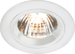 FIXED WHITE TWIST-LOCK DOWNLIGHT GU10/MR16