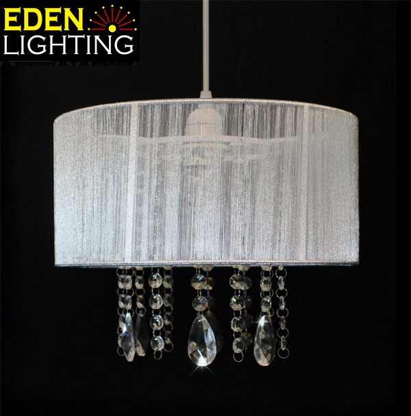 Crystal Lamp Shades Eden Lighting