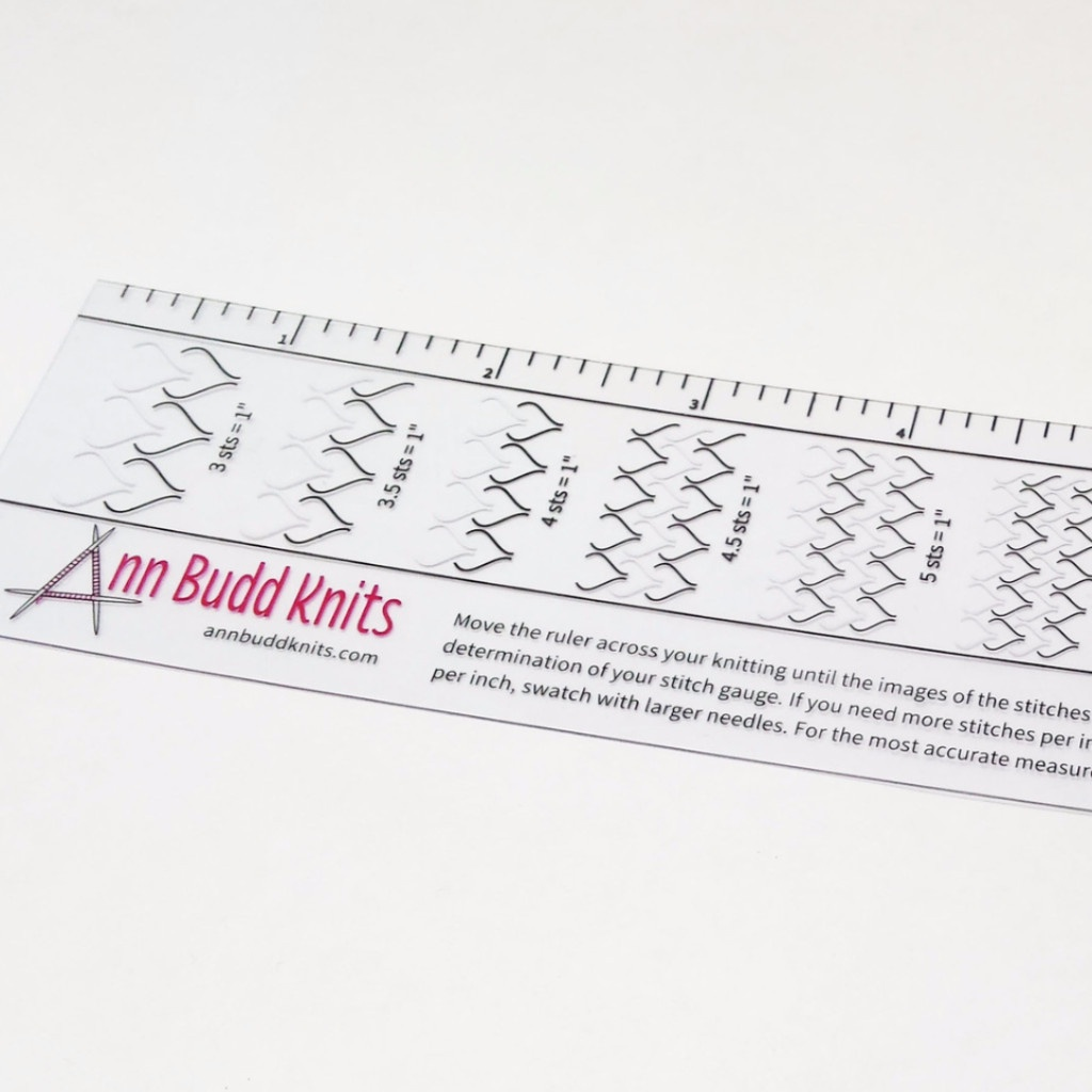 Ann Budd Ruler Gauge Online Store River City Yarns