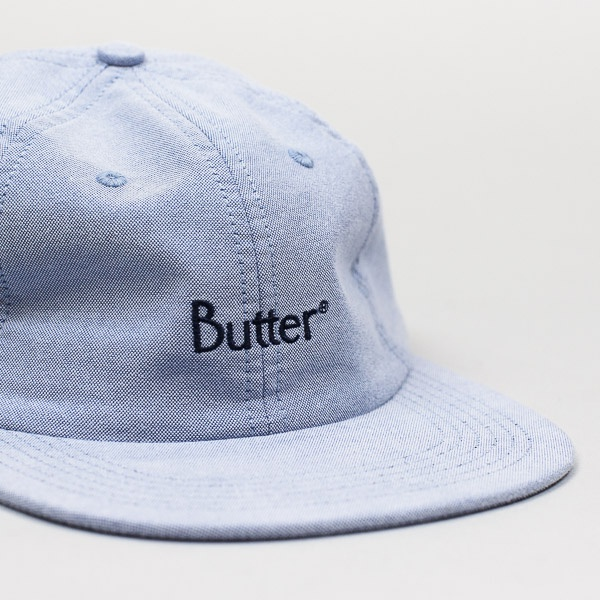 Butter Goods Classic Logo Oxford 6 Panel Sky