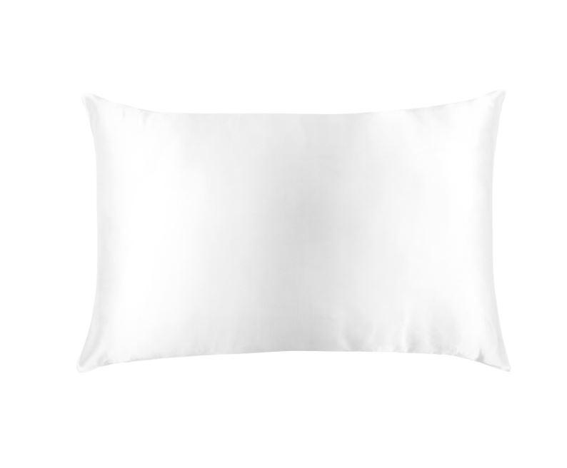 PURE SILK PILLOWCASE - ARCTIC WHITE
