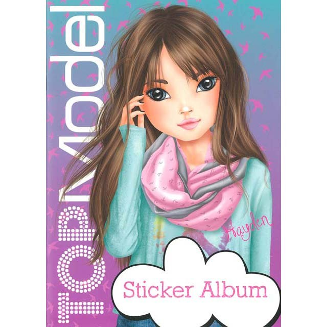 Top Model Sticker Album