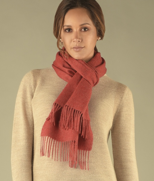 LONG BRUSHED SCARF M2219