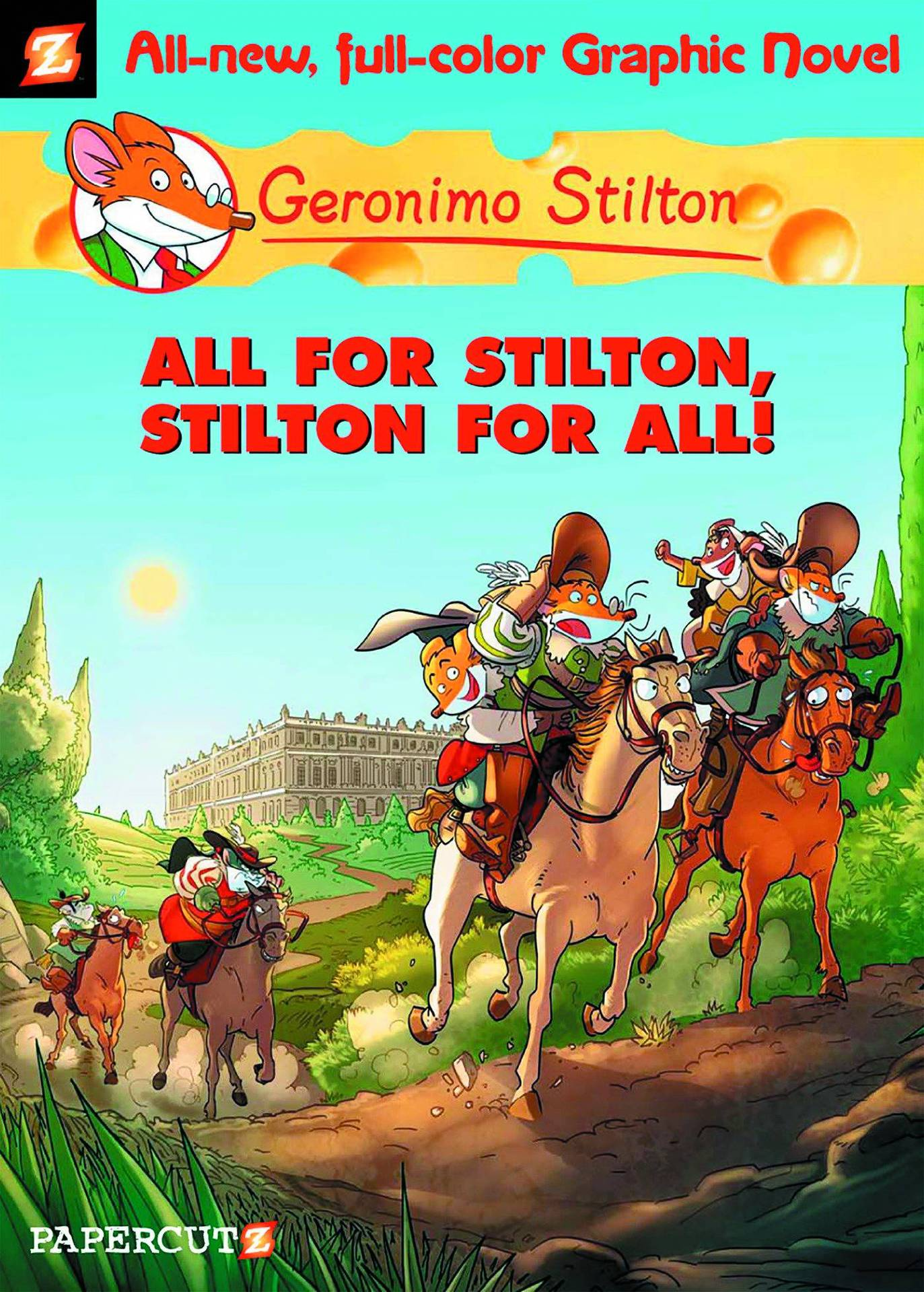 Geronimo Stilton HC Vol 15 Stilton For All