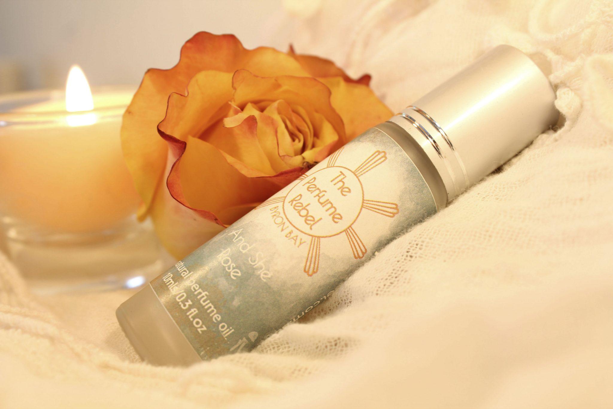 Natural Perfume - And She Rose
