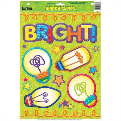 EU 836070 CMW LIGHT BULBS WINDOW CLINGS