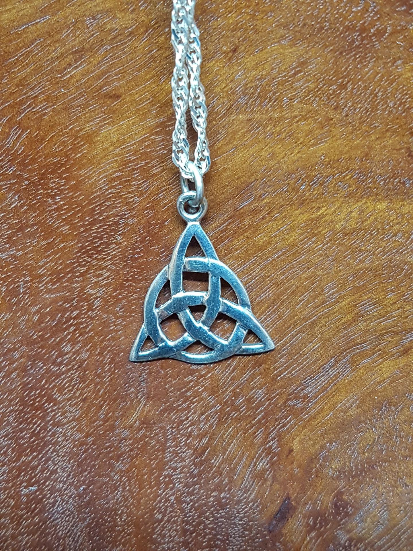 Sterling Silver Celtic Design Pendant