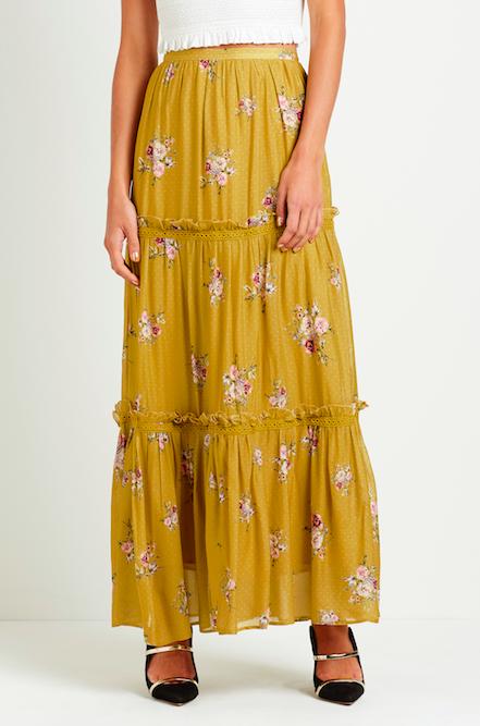 Steele Bellflower Maxi Skirt
