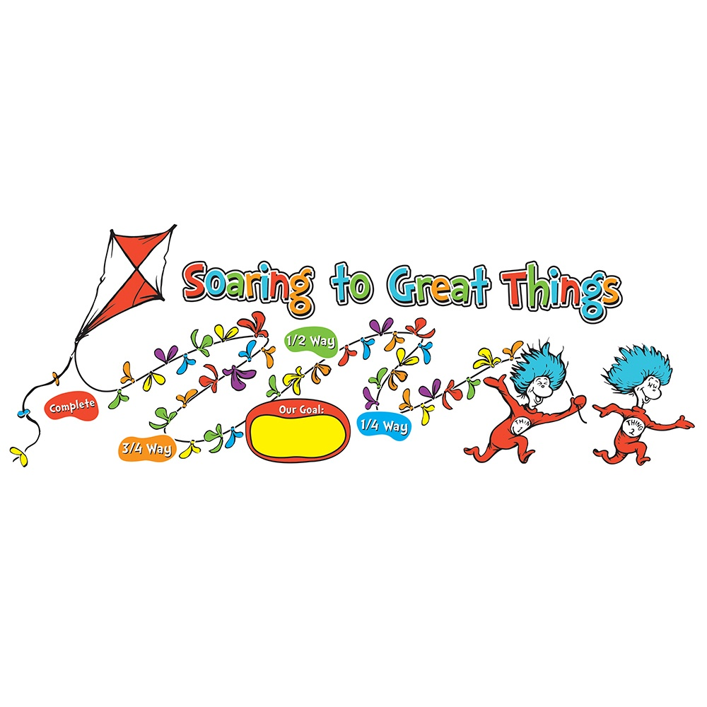 X EU 847015 DR SEUSS GET SOARING TO GREAT THINGS BBS