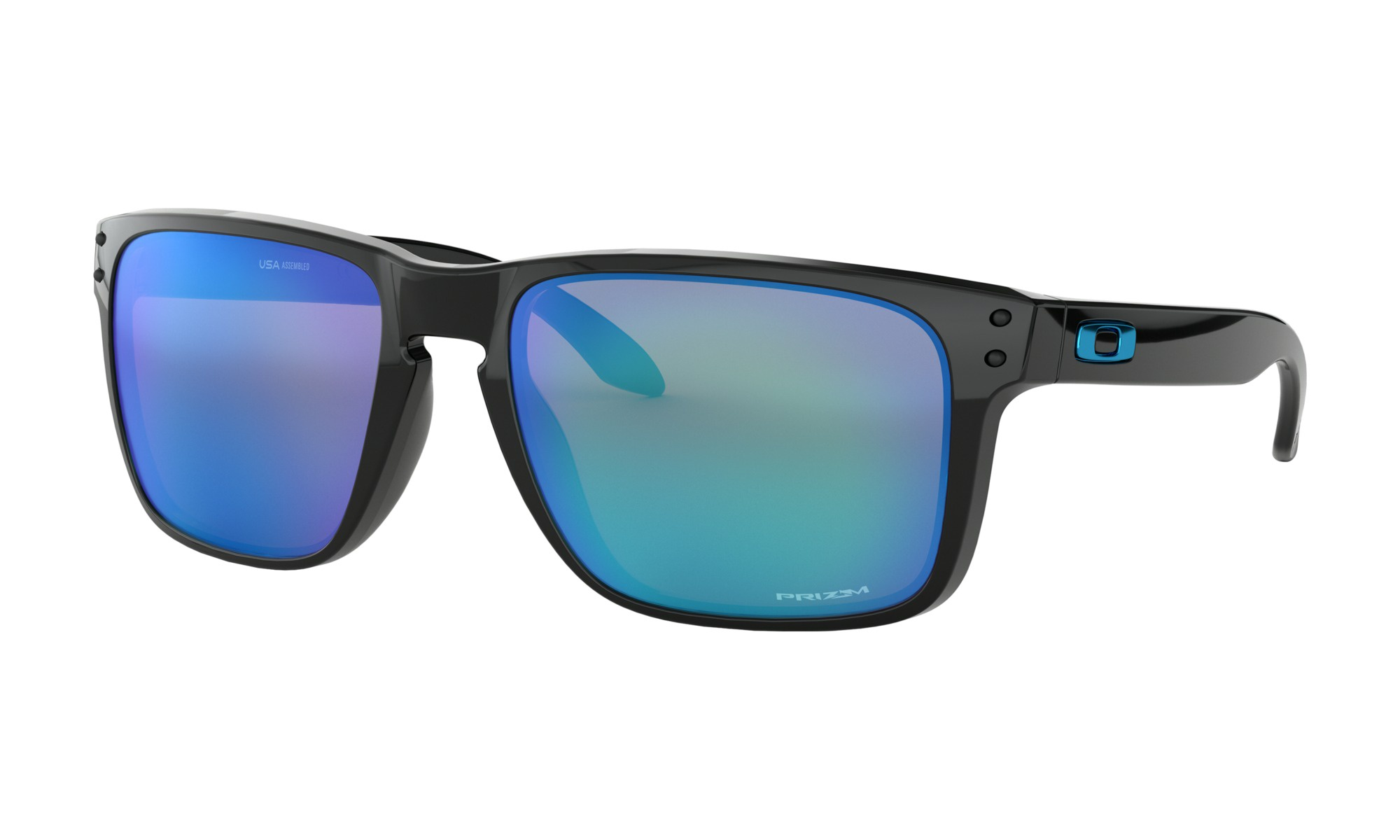 d5cf3cc855 Oakley Holbrook XL - Polished Black w Prizm Sapphire Iridium - Out There  Surf