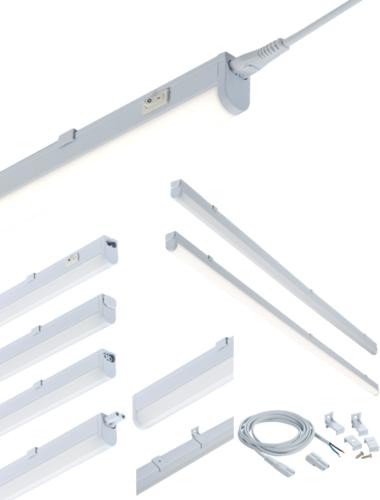 230V 9W LED Linkable Striplight 4000K (538mm)