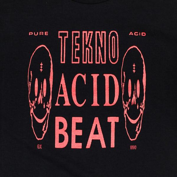 GX1000 Acid Beat Tshirt Black