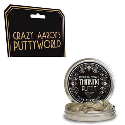 CRAZY AARON'S THINKING PUTTY PURE PLATINUM