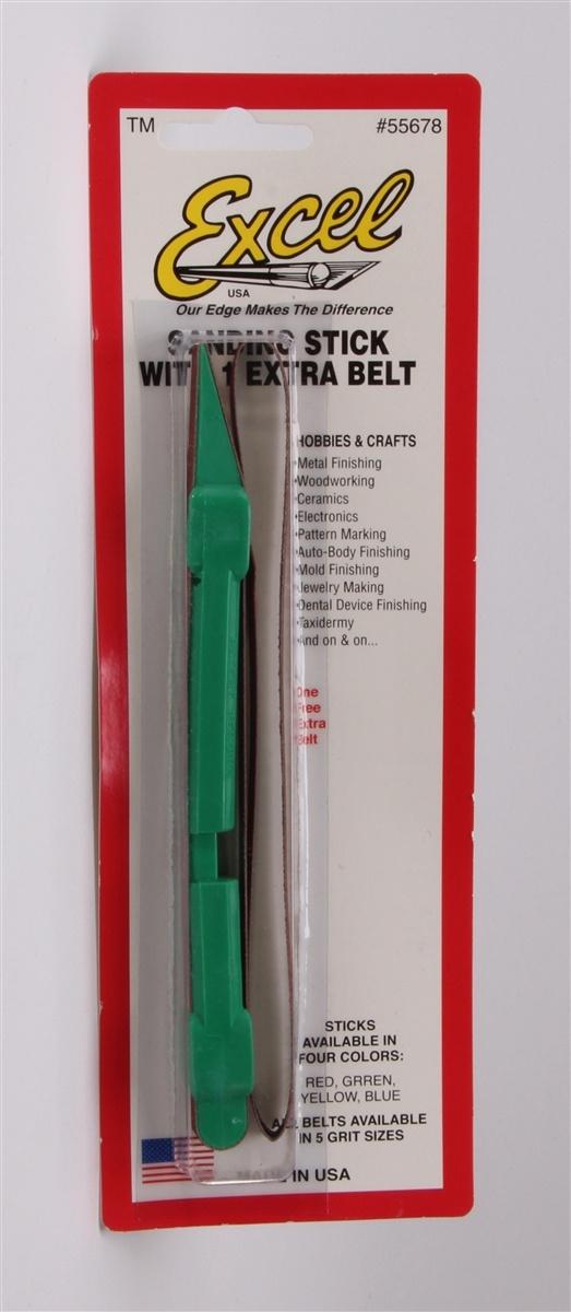 Excel Sanding Stick 5 Belts 120 Grit Belts ONLY 55680 Closeout
