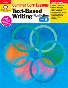 X EMC 6036 CC MASTERY TEXT-BASED WRITING NF G6