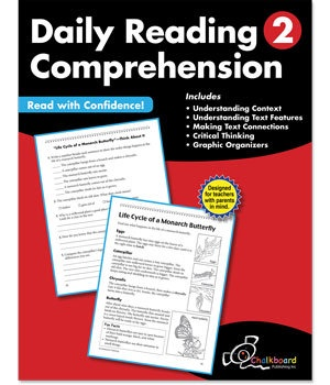 CTP 8182 DAILY READING COMPREHENSION GR.2