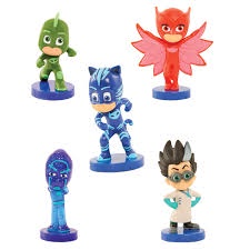 PJ MASK 5PK FIGURE ON BLISTER
