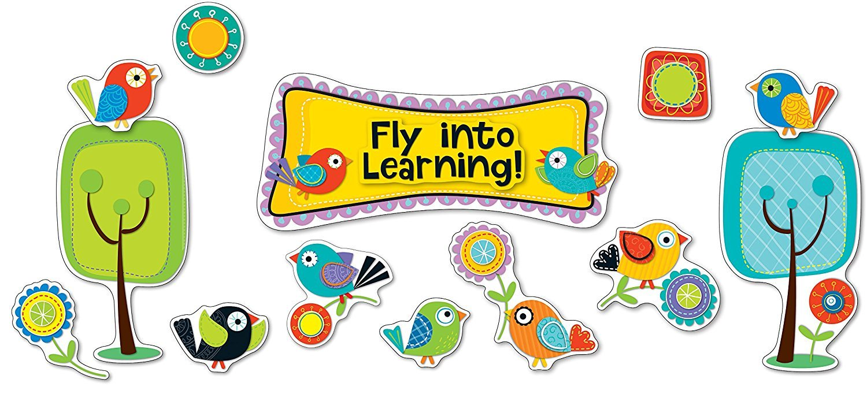 X CD 110301 BOHO BIRDS FLY INTO LEARNING BBS