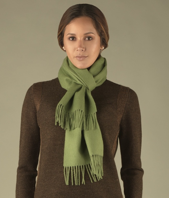 LONG BRUSHED SCARF VR14024