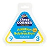 T 1670 3 CORNER FLASH CARDS ADD/SUB