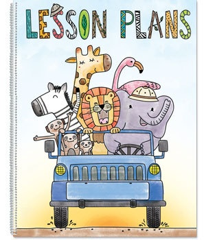 CTP 2074 SAFARI FRIENDS LESSON PLAN BOOK