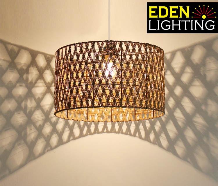 8667 350mm lamp shade woven lamp shades eden lighting previous aloadofball Images