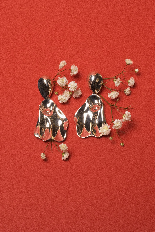Annie Berner - Artichaut Earrings