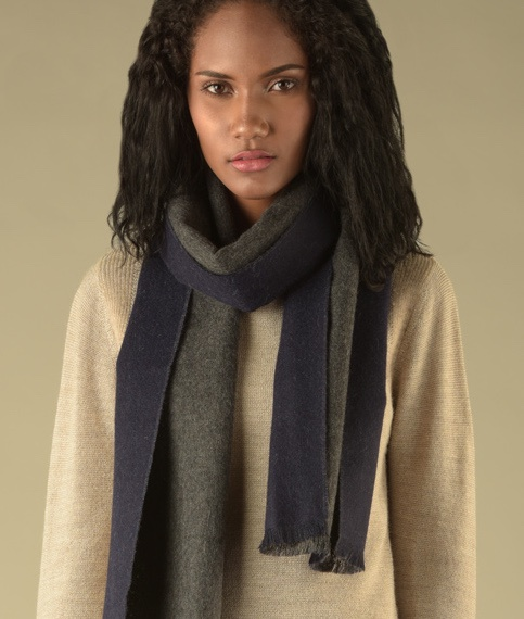DOUBLE FACE SCARF 1074-02 C004