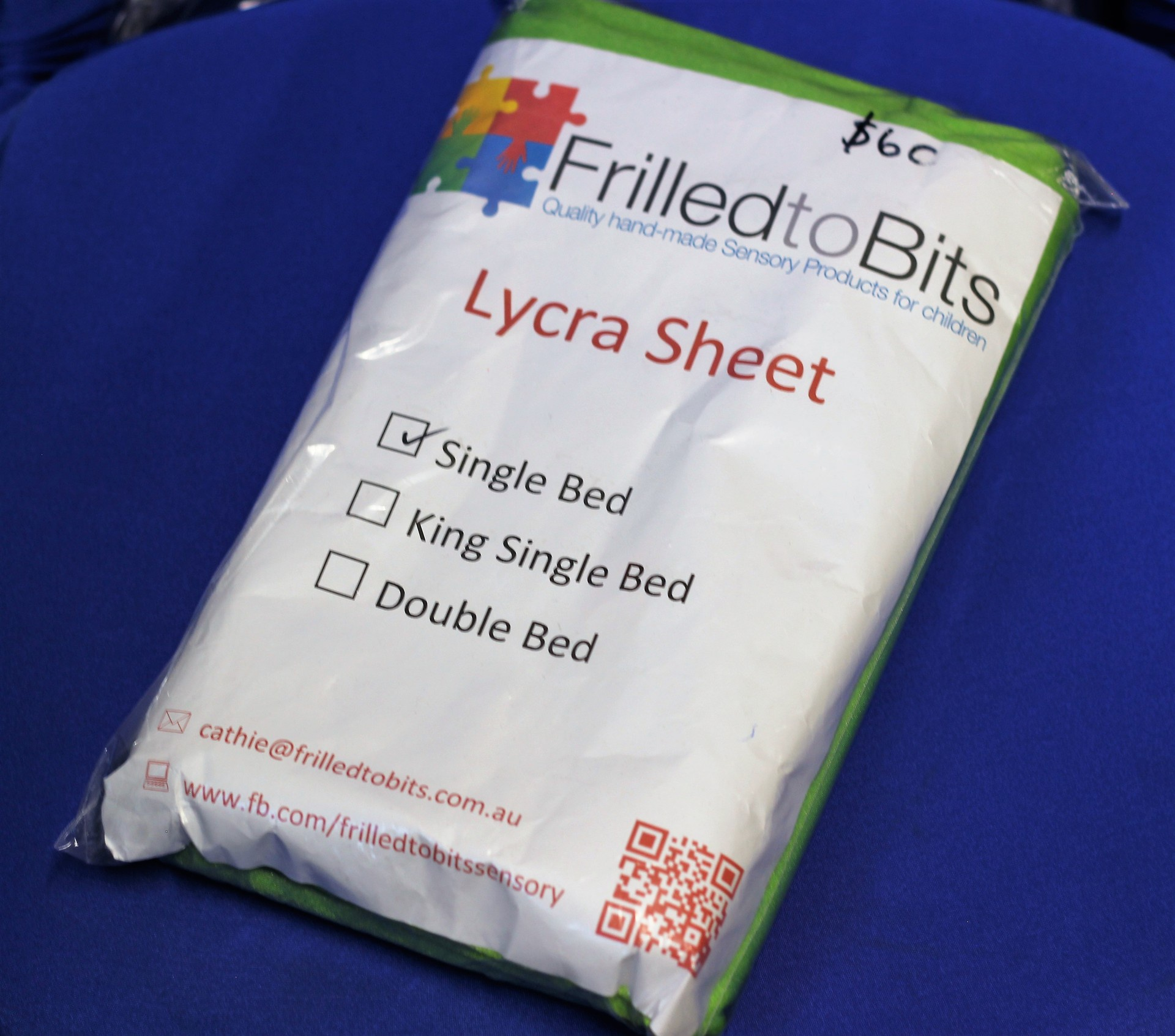 Lycra Bed Sheets   King Single